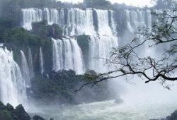Большая вода водопадов Игуасу