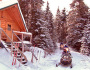 На снегоходах в Карелии